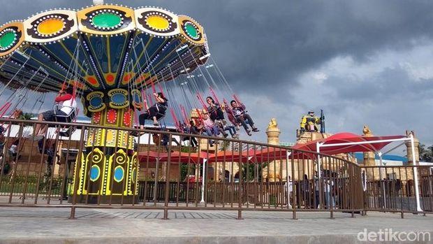 Tempat Wisata Saloka Theme Park, Rekreasi Kekinian di Semarang