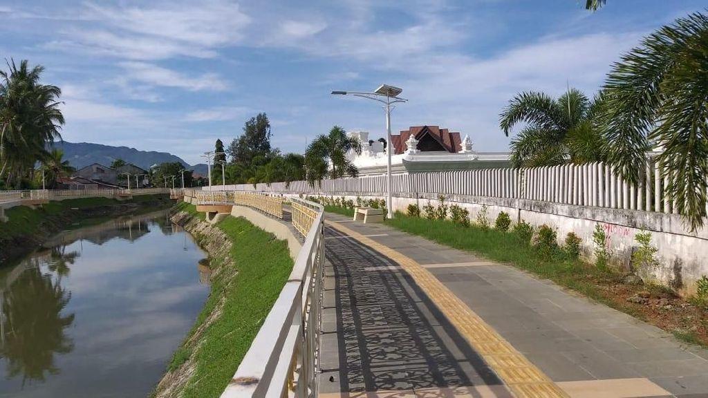 Foto Sungai Kumuh di Aceh yang Jadi Rapi