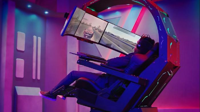 Predator Thronos, gaming chair buatan Acer yang resmi masuk ke Indonesia. Foto: Dok. Acer