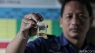 Polda Sultra Geledah Penumpang dan Tes Urine Sopir AKAP