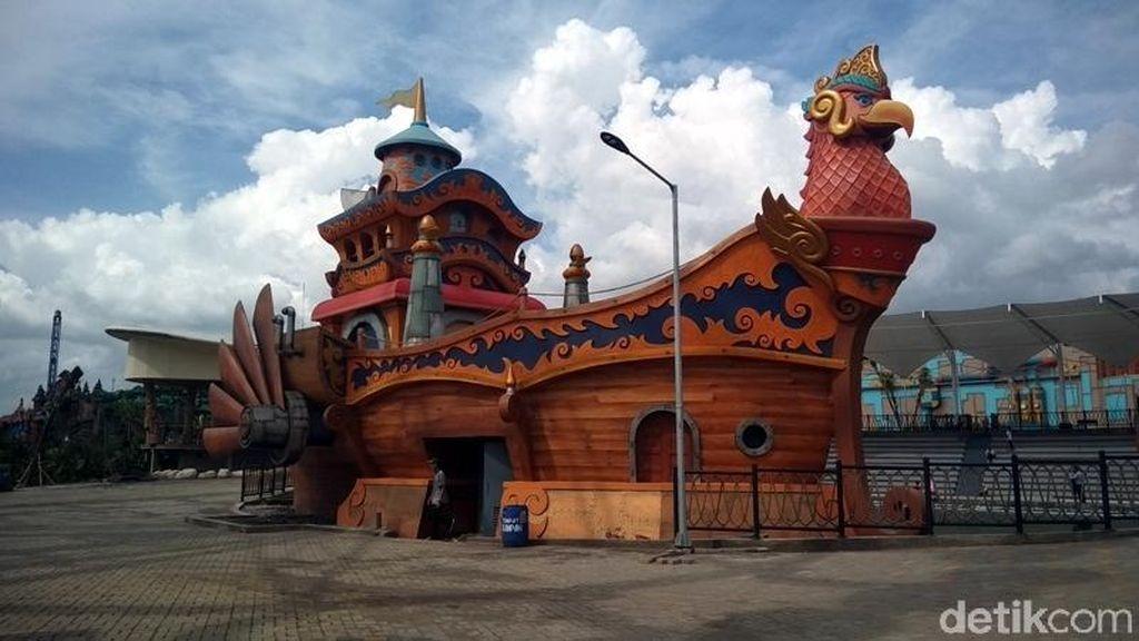 Wisata di Jawa Tengah, Yuk Ajak Keluarga Coba Saloka Theme Park