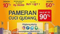 Serunya Berburu Diskon 90% di Big Bang Jakarta 2018