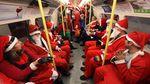 Tak Cuma Naik Kereta Rusa, Intip Deretan Kendaraan Unik Santa
