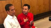 Nggak Mau Kalah! Raffi Ahmad Juga Hadirkan Jokowi di Vlog Terbaru