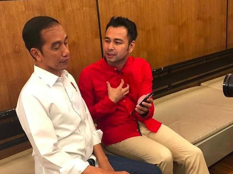 Ngevlog, Raffi Ahmad Beberkan Rahasia Jokowi