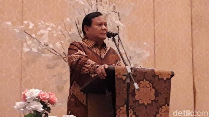 Prabowo Subianto. Foto: Hilda-detikcom