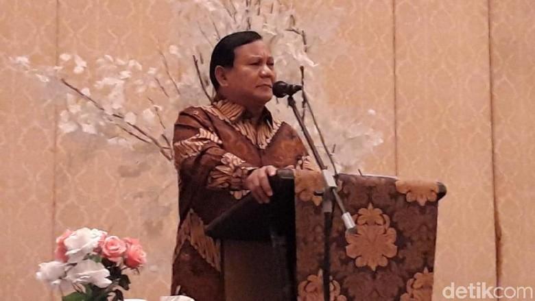 Prabowo: Kita Rebut Kembali Kehormatan dan Kemerdekaan Rakyat!