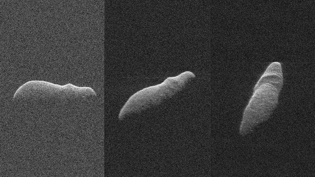 Penampakan Asteroid yang Seperti Kuda Nil Luar Angkasa