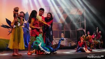 Keseruan Anak-anak Bermain Drama Musikal