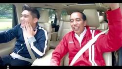 Jokowi Numpang Alphard Boy William