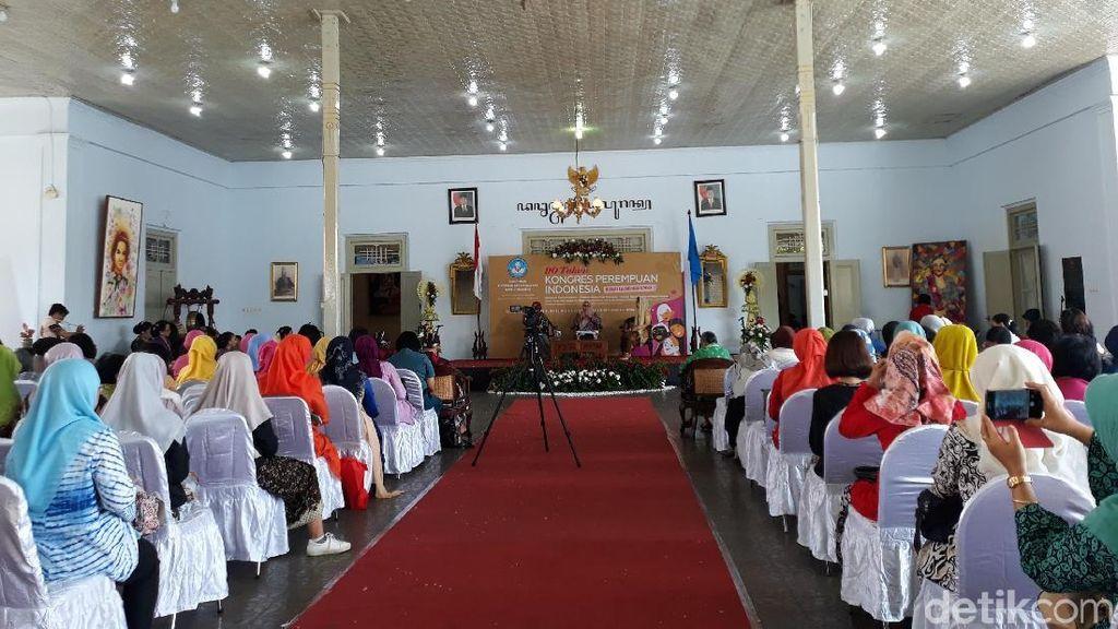 90 Tahun Lalu, Kongres Perempuan Digelar di Dalam Joyodipuran