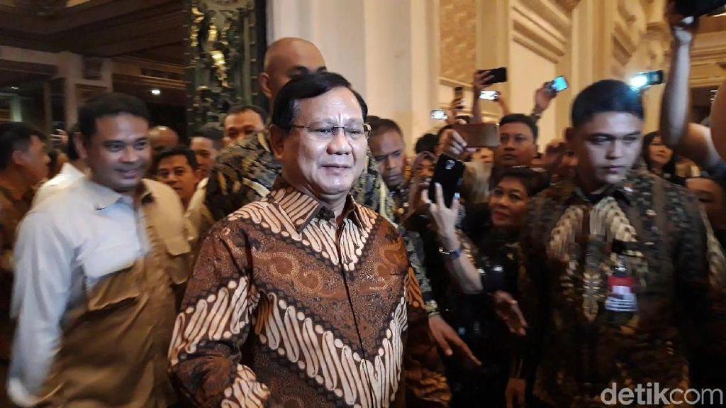 Bicara Masalah Kemakmuran, Prabowo Singgung AS dan Prancis