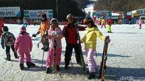Hari Ketiga, dTraveler Seru-seruan Main Ski di Korea Selatan