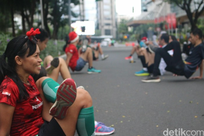 Yasha mengatakan, untuk pemula lebih baik untuk melakukan kegiatan lari ini secara bertahap. (Foto: Kireina/detikHealth)