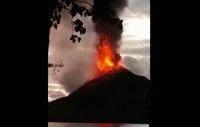 Mencekamnya Erupsi Anak Krakatau Sebelum Tsunami, Bikin Bergetar
