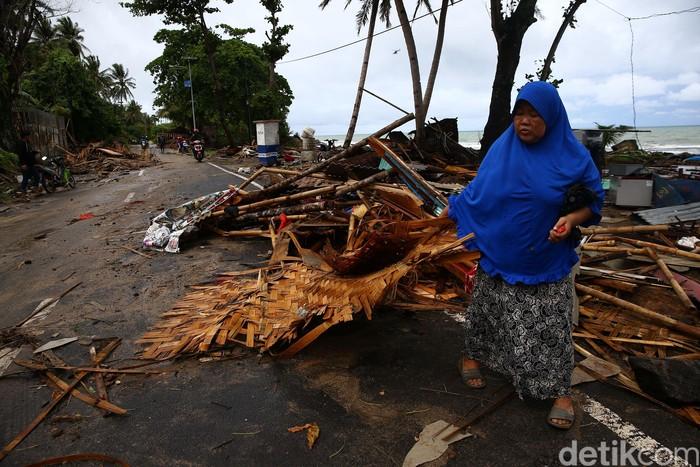 Tsunami Pantai Anyer Foto: Grandyos Zafna