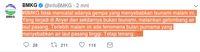 Screenshot Twitter BMKG