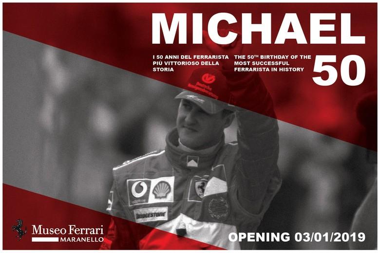 Penghargaan untuk Michael Schumacher di Museum Ferrari. Foto: Istimewa