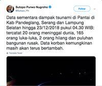 Tsunami Banten, Pertamina Pastikan SPBU dan Terminal LPG Aman