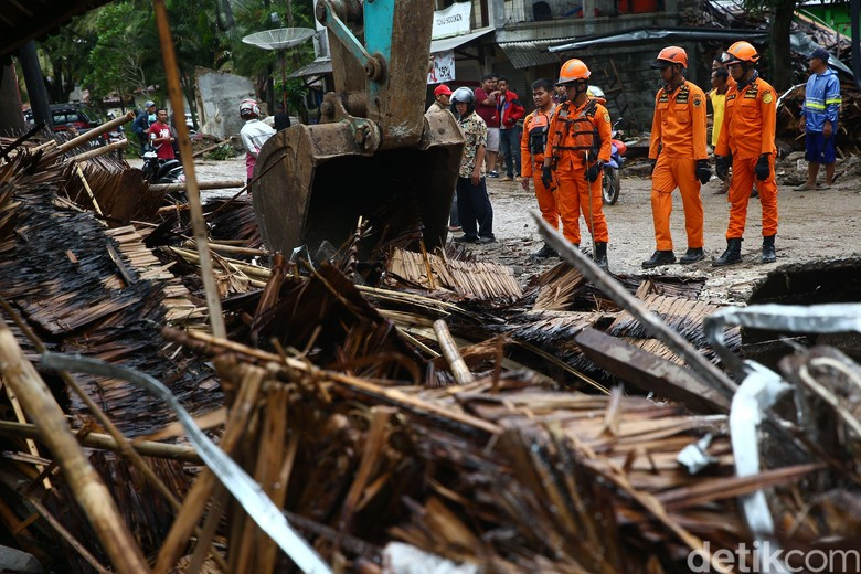 Update Data Korban Tsunami Selat Sunda: 281 Tewas, 1.016 Luka
