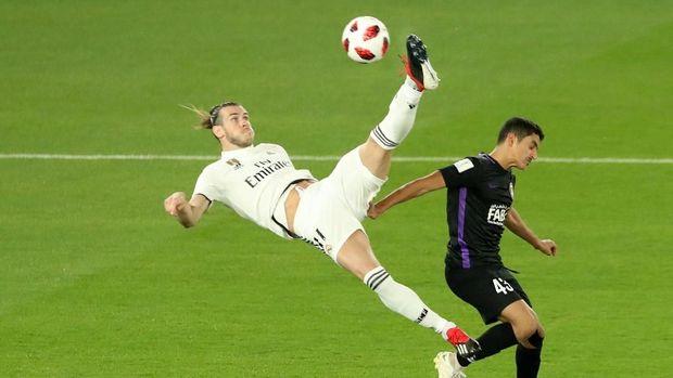 Gareth Bale gagal menyarangkan gol pada final Piala Dunia Antarklub 2018.