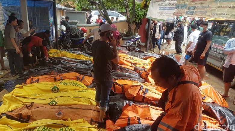 Bnpb 168 Korban Jiwa Tsunami Anyer Terbanyak Di Pandeglang