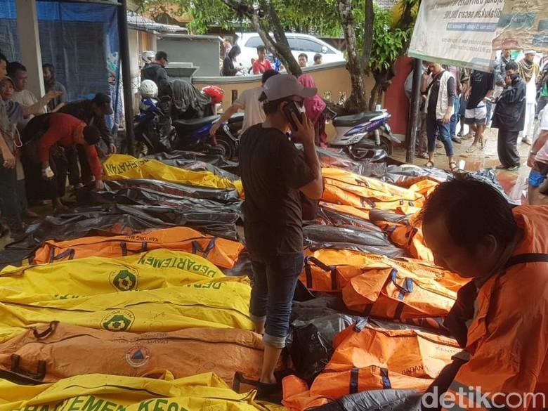 Jejak Pungli Jenazah Tsunami Selat Sunda Berujung 3 Tersangka