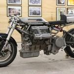 Gokil, Mesin V6 dari Mobil Maserati Dicangkok ke Motor