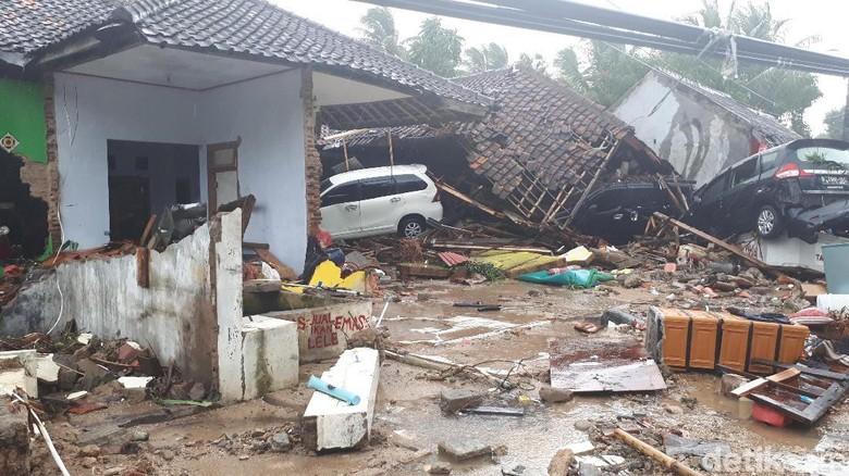 Update Korban Tsunami Selat Sunda: 168 Orang Meninggal, 745 Terluka