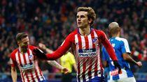 Hasil Liga Spanyol: Penalti Griezmann Antar Atletico Kalahkan Espanyol