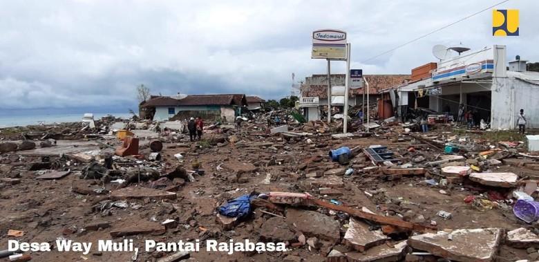 164 Orang Tewas dan 3.050 Mengungsi Akibat Tsunami di Pandeglang