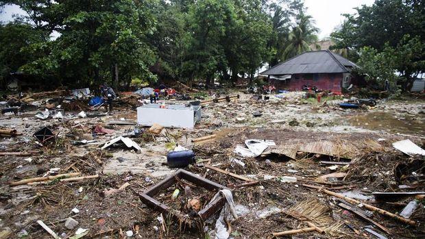 Tsunami Selat Sunda, Pulau Sebesi Masih Lumpuh dan Terisolasi
