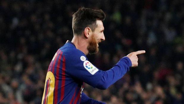 Lionel Messi sudah mencetak 15 gol hingga akhir tahun 2018.