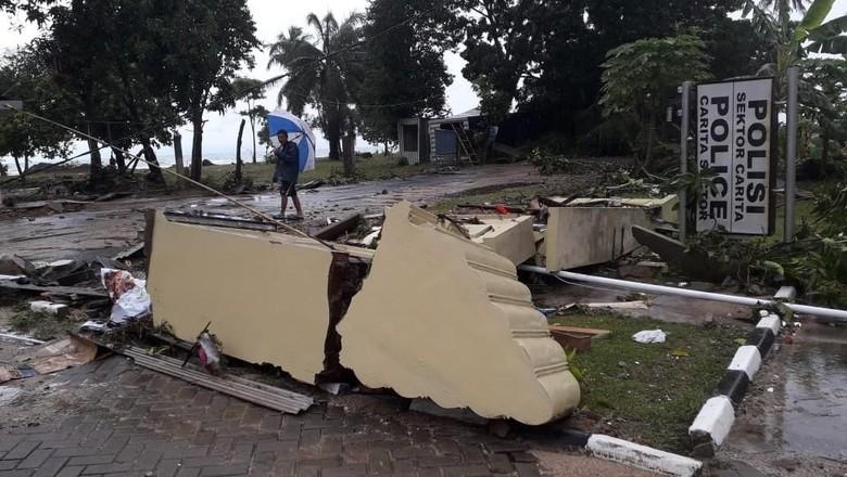Kenapa Tak Ada Peringatan Dini Tsunami Anyer Pandeglang?