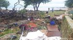 Hancur Berantakan, Ini Panggung Seventeen yang Diterjang Tsunami