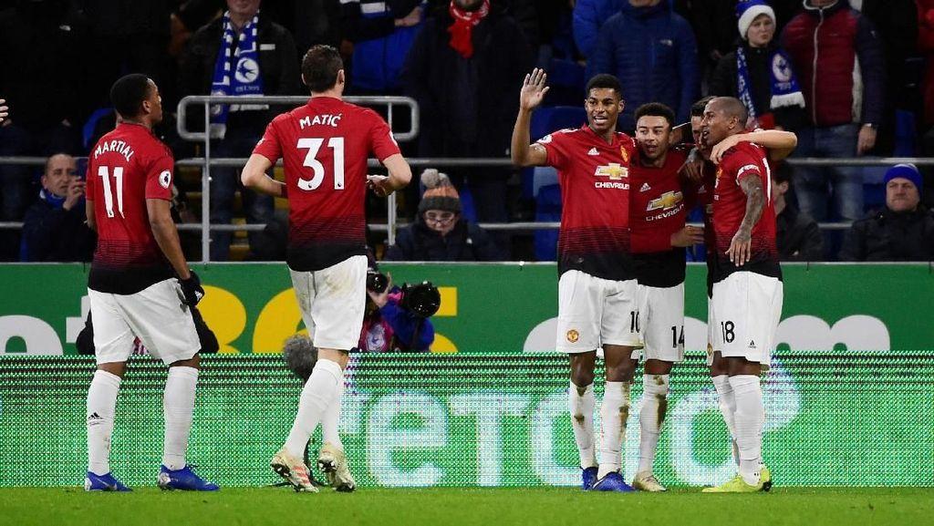 Hasil Liga Inggris: MU Menang Telak di Laga Debut Solskjaer