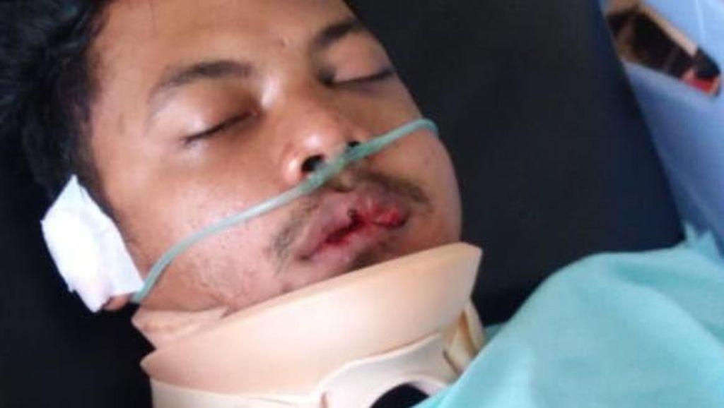 Krisna Adi, yang Dihukum Seumur Hidup oleh PSSI, Kecelakaan di Sleman