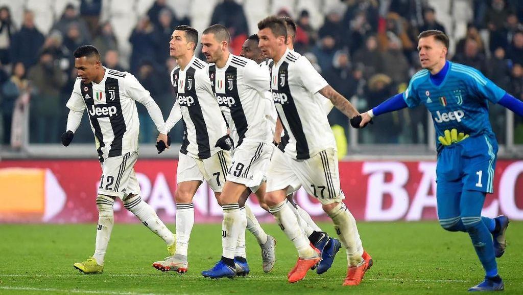 Setumpuk Rekor Juventus Usai Kalahkan Roma