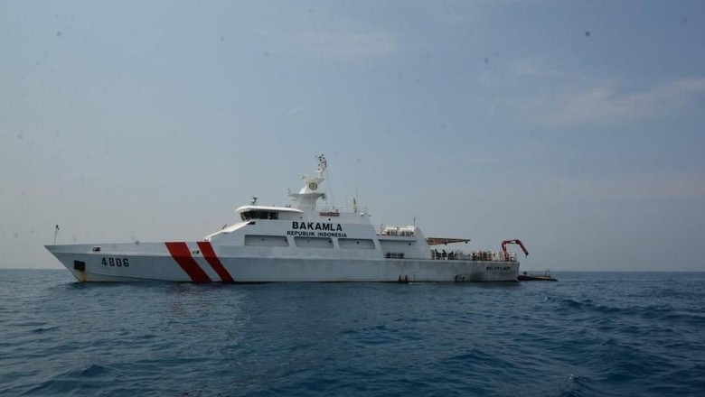 Bakamla Kerahkan Kapal Bantu Cari Korban Tsunami di Selat Sunda