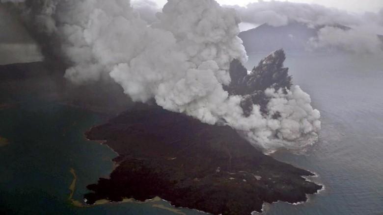 ESDM akan Pasang Dua Alat Seismograf di Sekitar Gunung Anak Krakatau