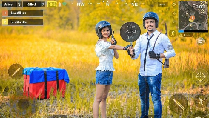 Beda Dari Yang Lain Foto Prewedding Pasangan Bertema Game Ini Viral