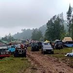 Pencinta Land Rover Kumpul di Ketinggian 1.350 mdpl