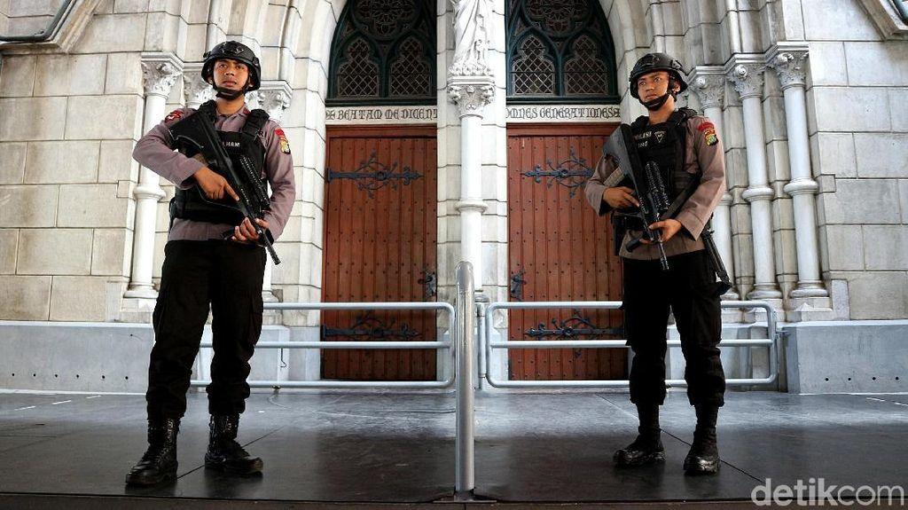 Jelang Natal, Pengamanan Gereja Katedral Dimaksimalkan