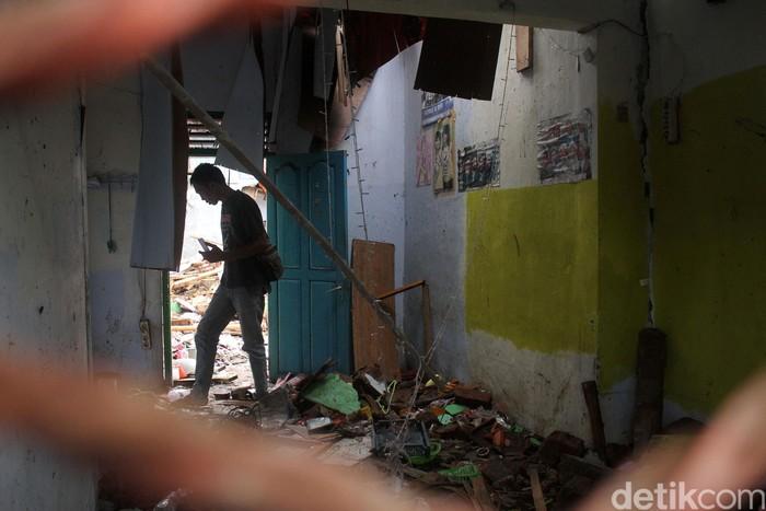 Salah satu kondisi wilayah terdampak tsunami Selat Sunda. (Foto: Rifkianto Nugroho)