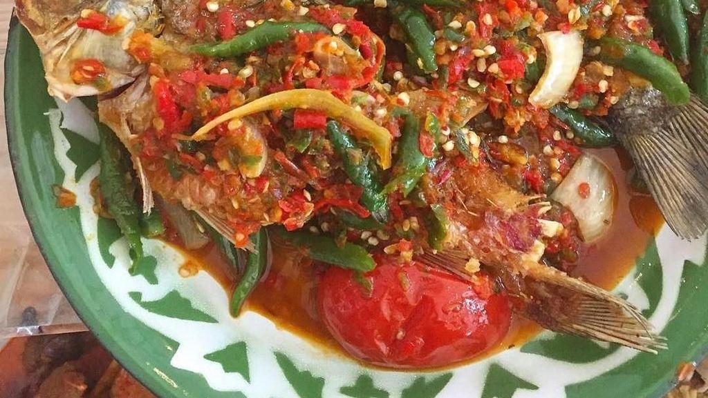 Lampung Punya Seruit, Sambal Ikan Plus Tempoyak yang Nikmat