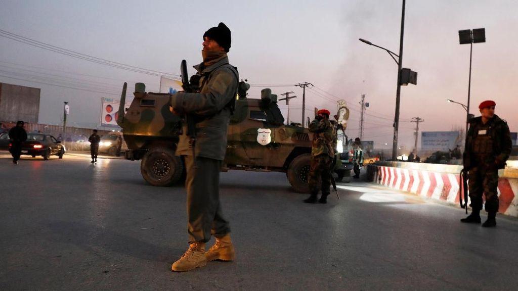 Gedung Pemerintah di Afghanistan Diserang, 43 Orang Tewas