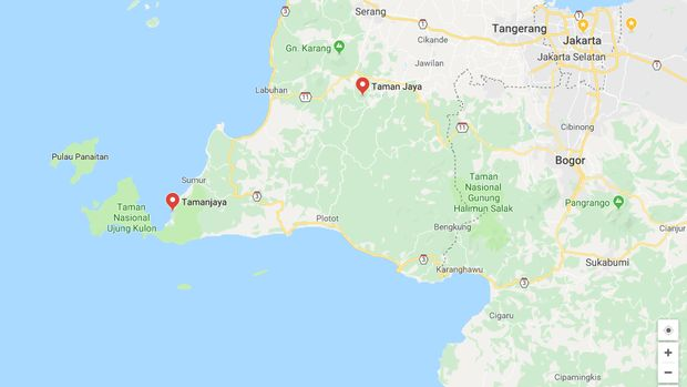 Pengungsi Tsunami Banten di Bukit Dekat Ujung Kulon Butuh Bantuan