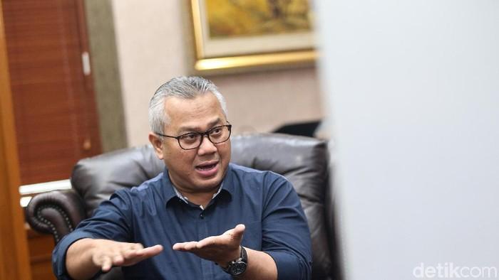 Ketua KPU Arief Budiman (Ari Saputra/detikcom)