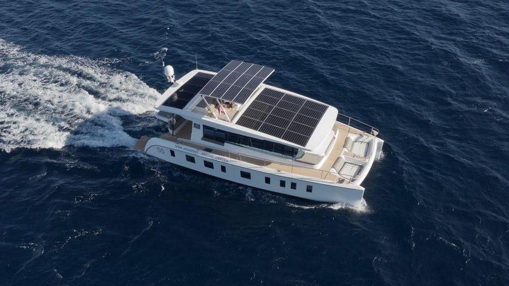 Canggihnya Kapal Pesiar Pertama di Dunia yang Pakai Tenaga Surya
