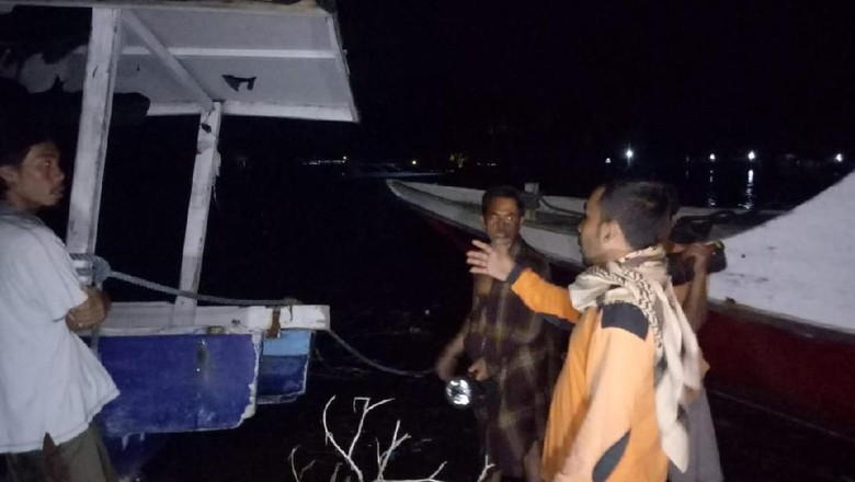 Air Laut di Lombok Utara Pasang, Sejumlah Warga Mengungsi